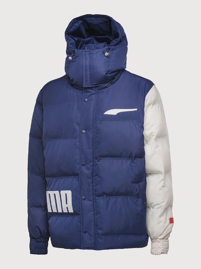Bunda Puma x ADER Jacket Modrá  63589dac3b1