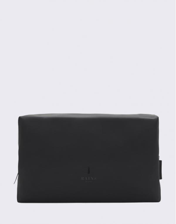 Rains Wash Bag Large 01 Black