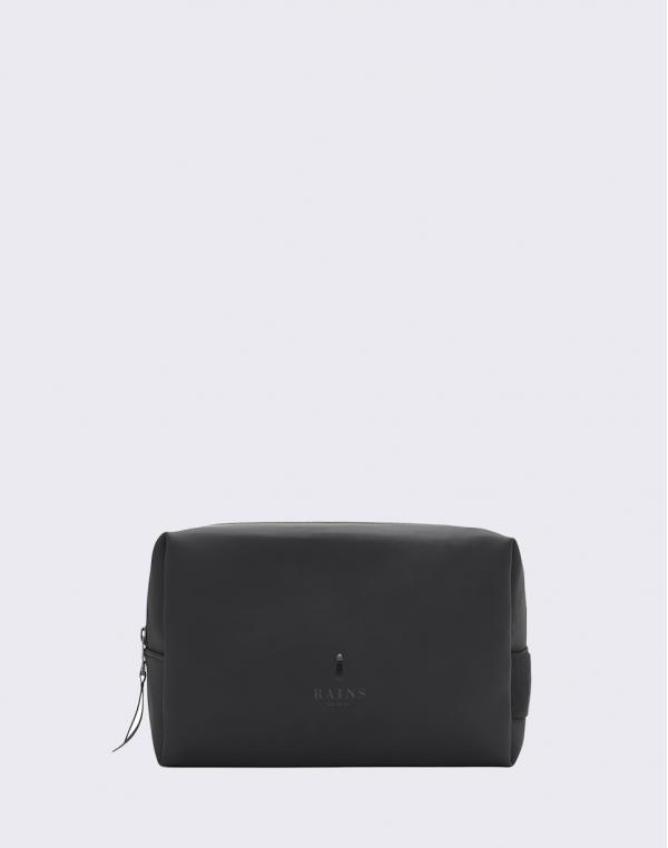 Rains Wash Bag Small 01 Black