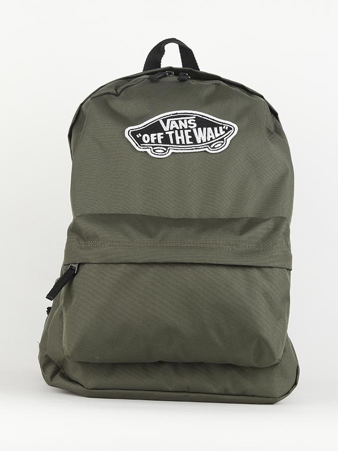 5df9378bd7 Batoh Vans WM Realm Backpack Grape Leaf Zelená