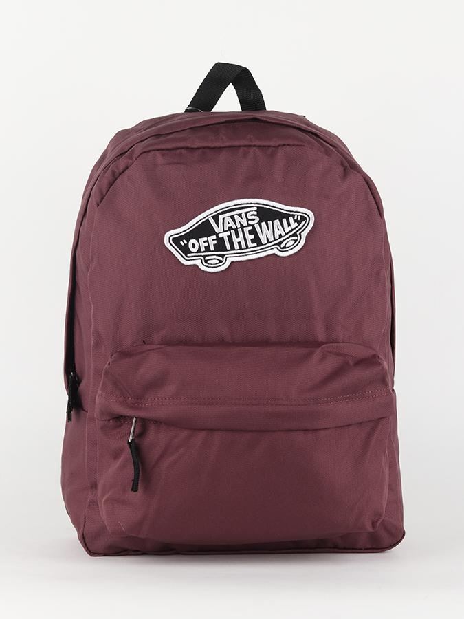 177a02b344 Batoh Vans WM Realm Backpack Catawba Grap Červená