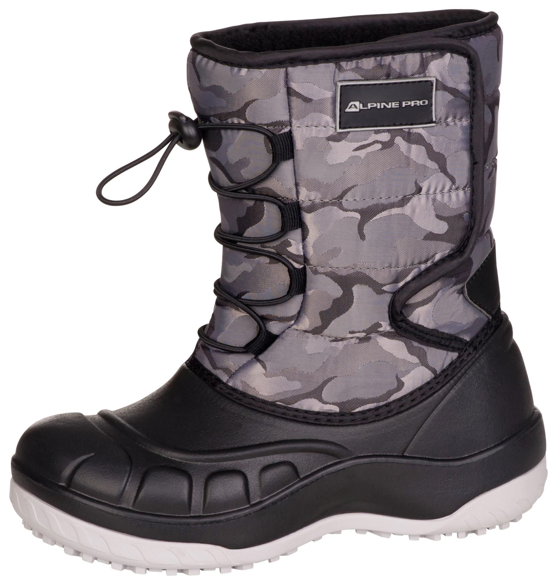 a12fdfb7676 ALPINE PRO AMARO NEUTRÁLNÍ   ZEMITÁ Dětská zimní obuv 24