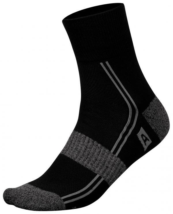 ALPINE PRO HARE 2 NEUTRÁLNÍ / ZEMITÁ Unisex Ponožky S