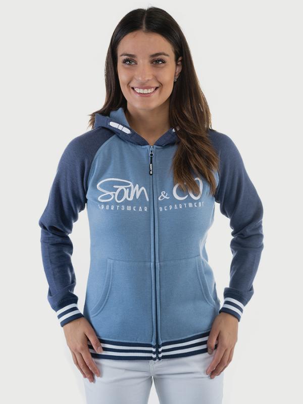 Mikina SAM 73 WM 730 Modrá