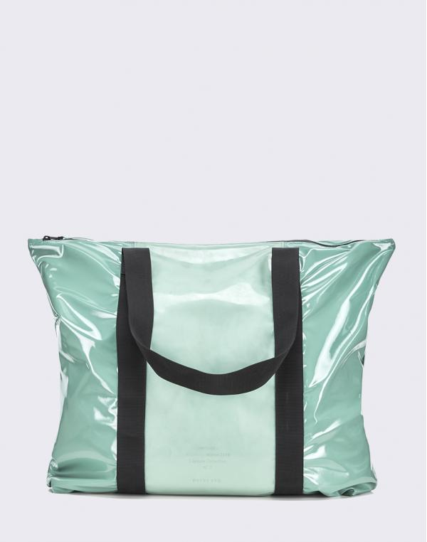 Rains LTD Tote Bag 73 Glossy Faded Green
