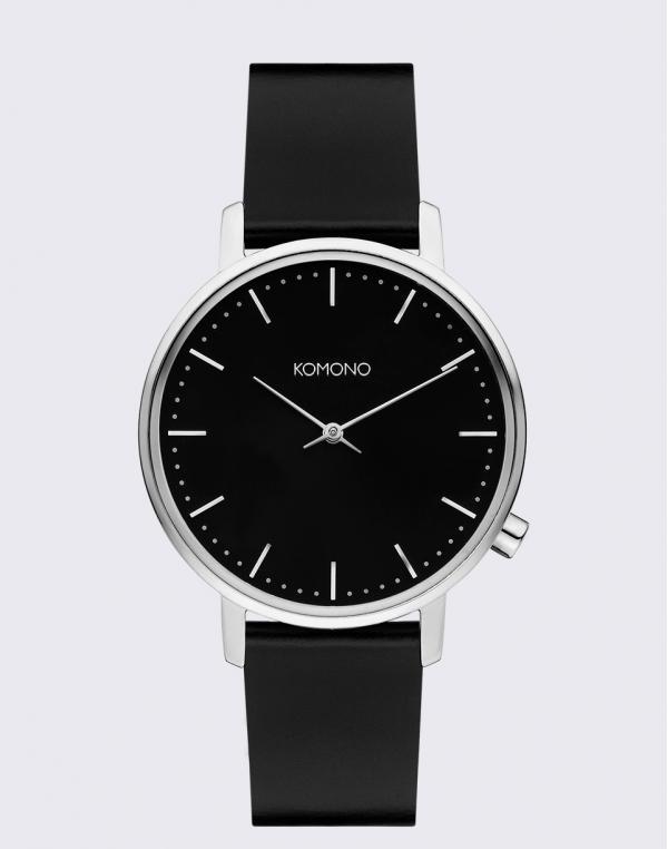 Komono Harlow Black Silver