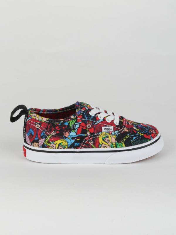 Boty Vans TD Authentic Elastic (Marvel) Multi True White Barevná ... 4c547737546