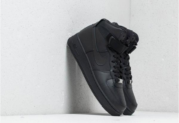 Nike Wmns Air Force 1 High Black/ Black-Black