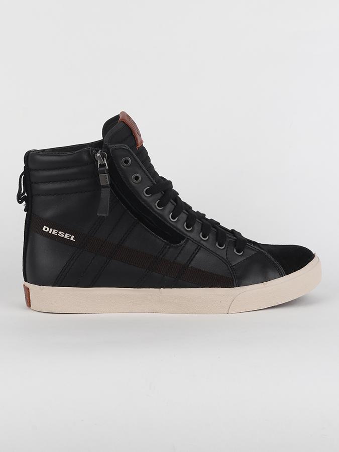 Boty Diesel D-String - Sneakers Černá  bd3c964b59