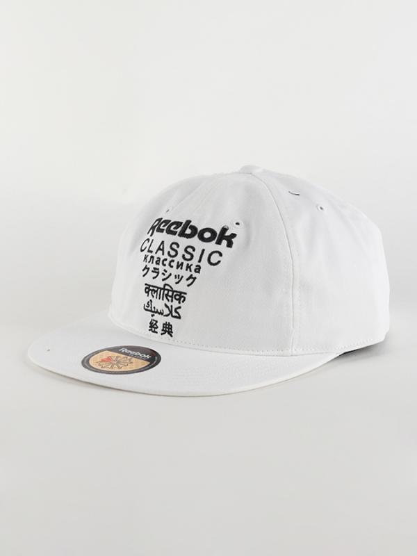 Kšiltovka Reebok Classic CL Cap International Bílá
