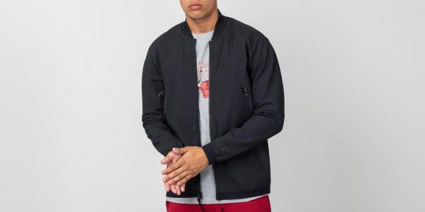 899916cbefe Nike Sportswear Tech Pack Woven Track Jacket Black