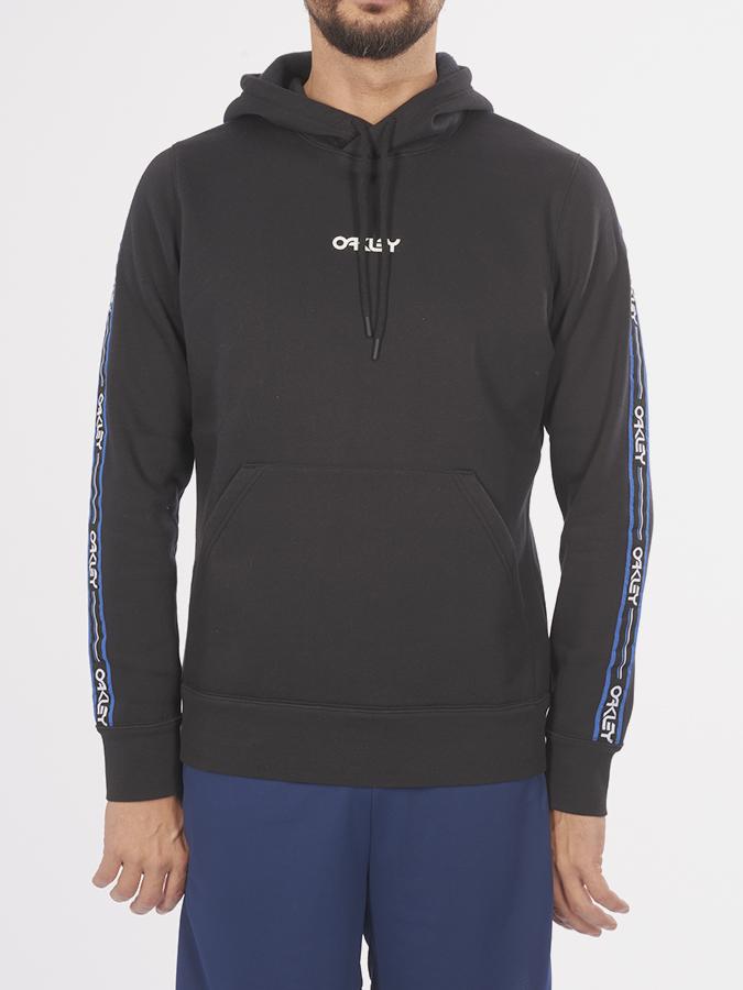 Mikina Oakley Street Logo Tape Hooded Fleece Černá  4544c0cf94