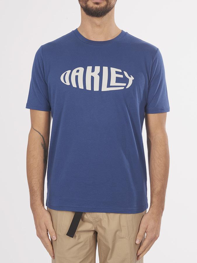 e1a41907e Tričko Oakley Oakley Fish Eye Modrá | SwagWear.cz