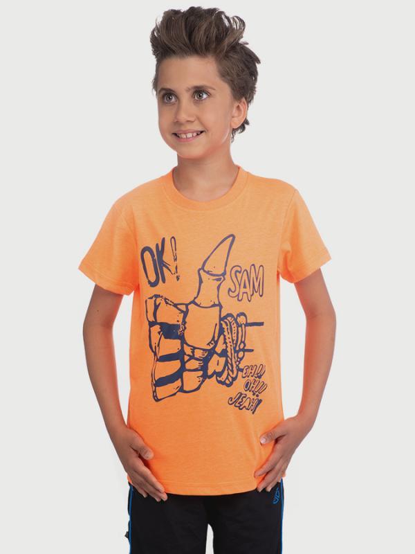 Tričko SAM 73 BT 518 Oranžová