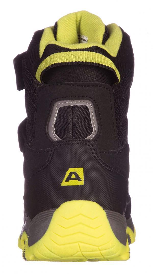 ALPINE PRO ACACIO ZELENÁ / TYRKYSOVĚ ZELENÁ Dětská zimní obuv 24