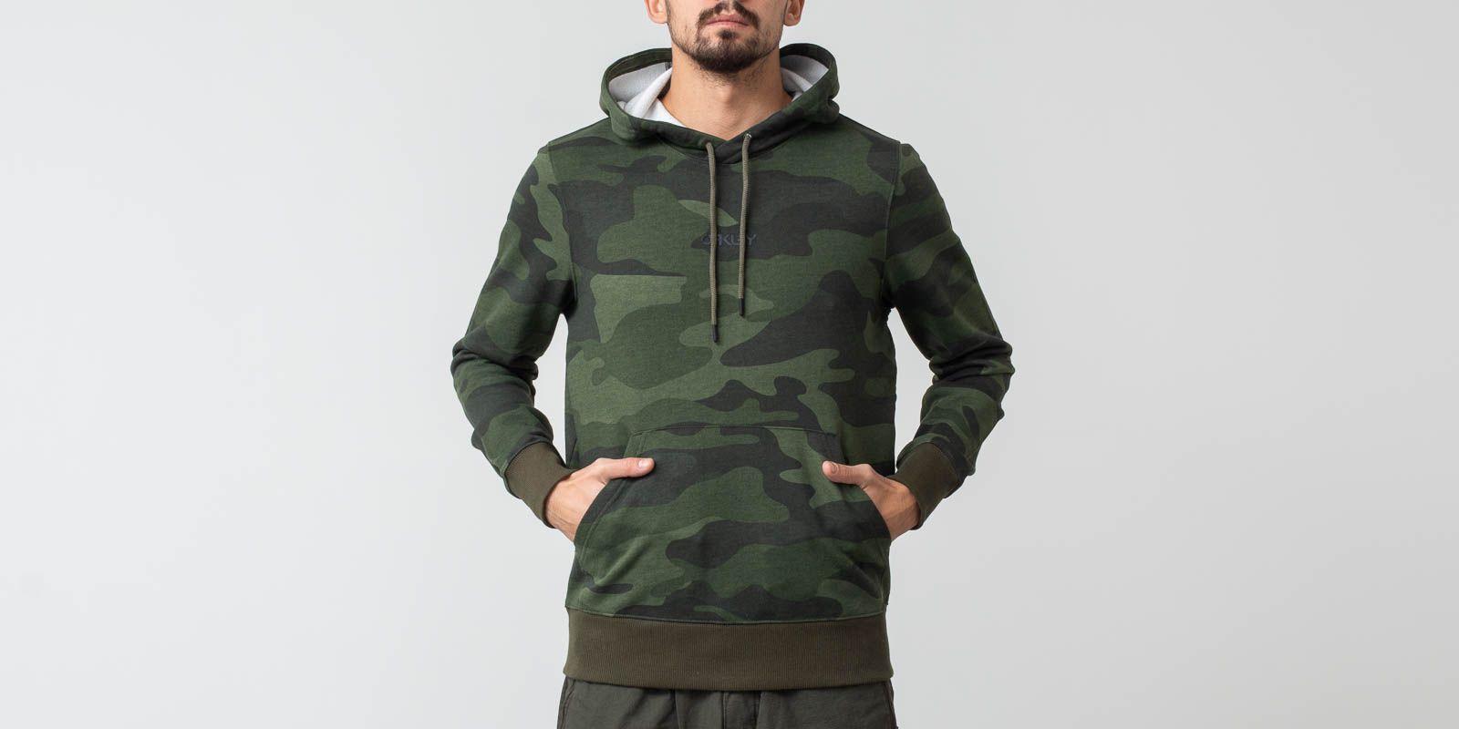 Oakley Street Logo Hooded Fleece Hoodie Core Camo  7b234ab07e
