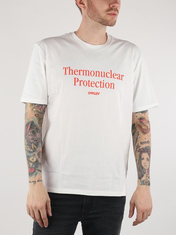 Tričko Oakley Thermonuclear Protection SS Bílá