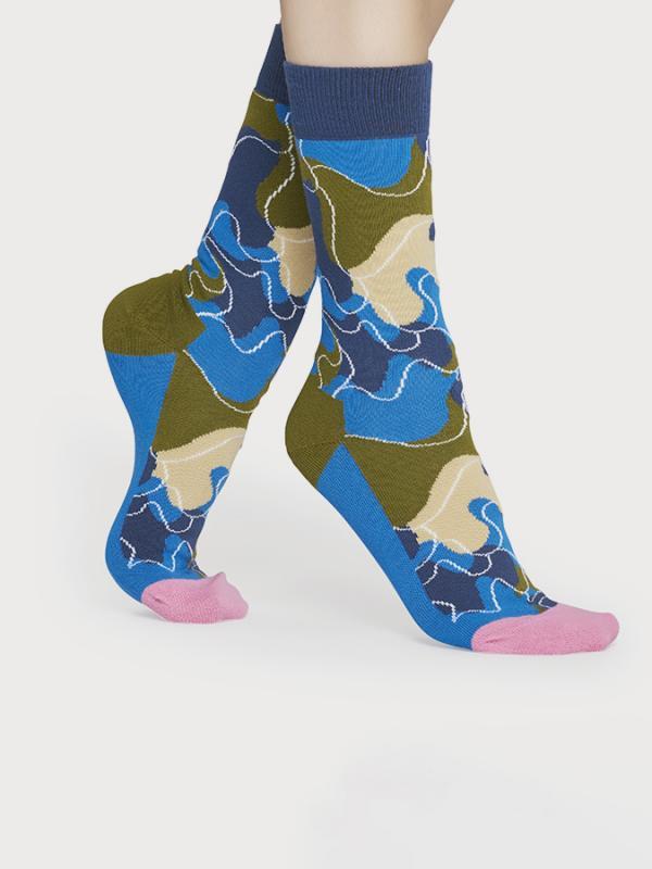 Ponožky Happy Socks Raw Sock Barevná