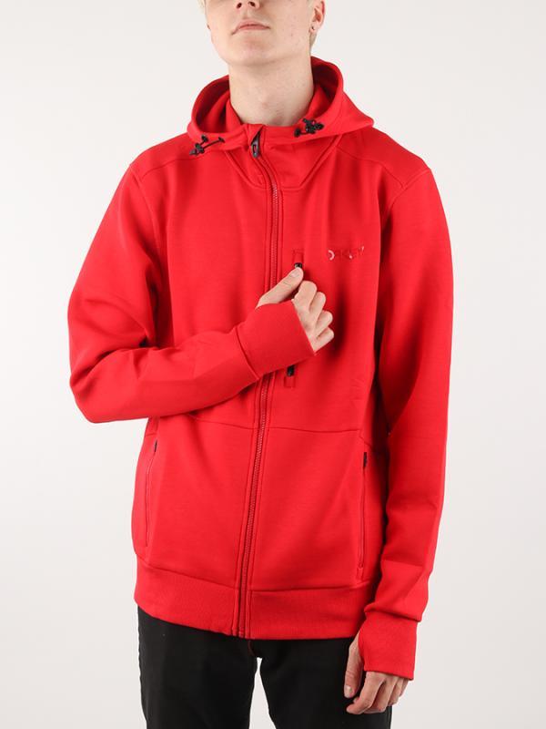 Mikina Oakley Fz Scuba Fleece Červená  5dd6123152