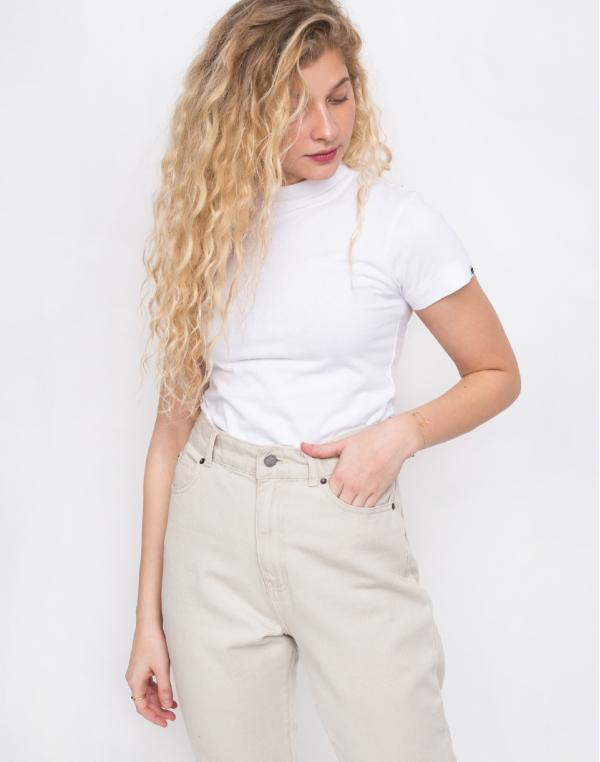 Lazy Oaf White Fitted White L