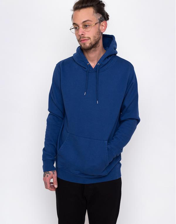 Colorful Standard Classic Organic Hood Royal Blue XS