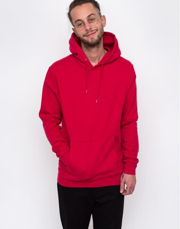 Colorful Standard Classic Organic Hood Scarlet Red XS