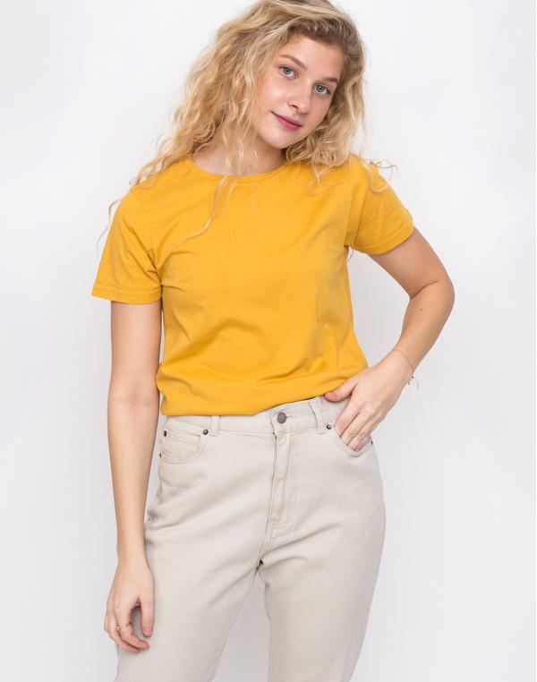 Colorful Standard Women Light Organic Tee Burned Yellow XS