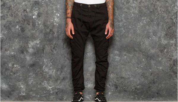 Urban Classics Cargo Jogging Pants Black
