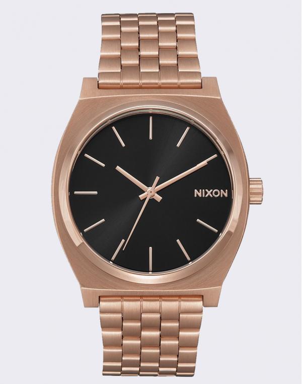 Nixon Time Teller All Rose Gold/ Black Sunray