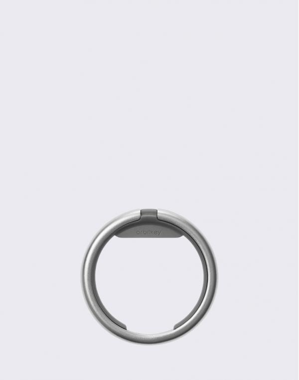 Orbitkey Ring Silver/Grey