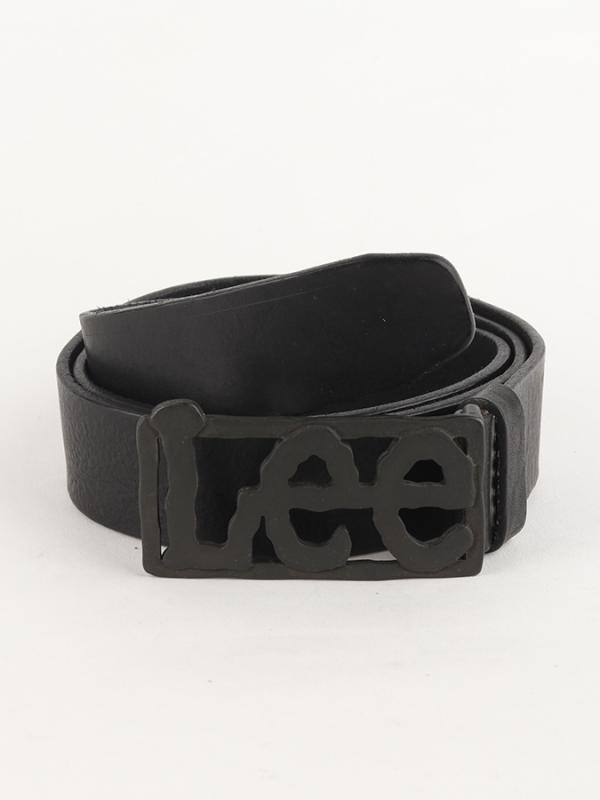 Pásek Lee Big Logo Belt Black Černá