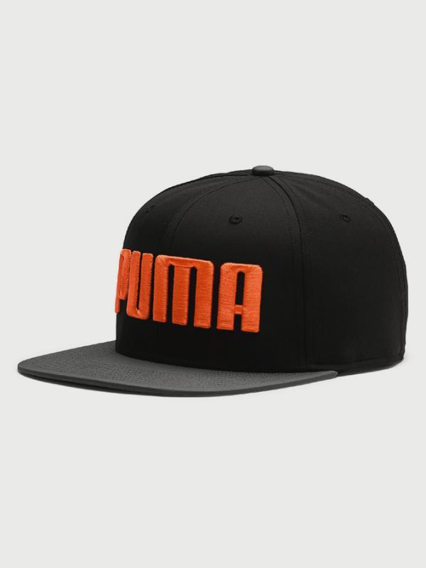 Kšiltovka Puma Flatbrim Cap Černá