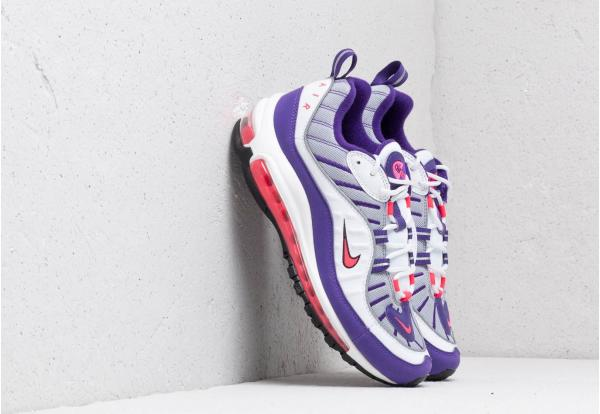 Nike W Air Max 98 White/ Racer Pink-Reflect Silver-Black