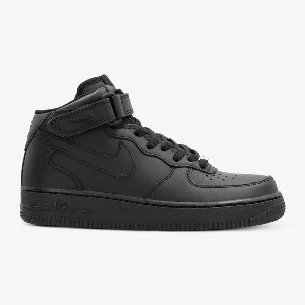 Nike Air Force 1 Mid (Gs) Černá EUR 6Y