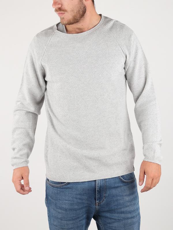 Svetr Diesel K-Cozy Pullover Šedá