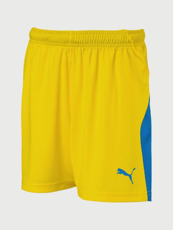 Kraťasy Puma LIGA Shorts Jr Žlutá