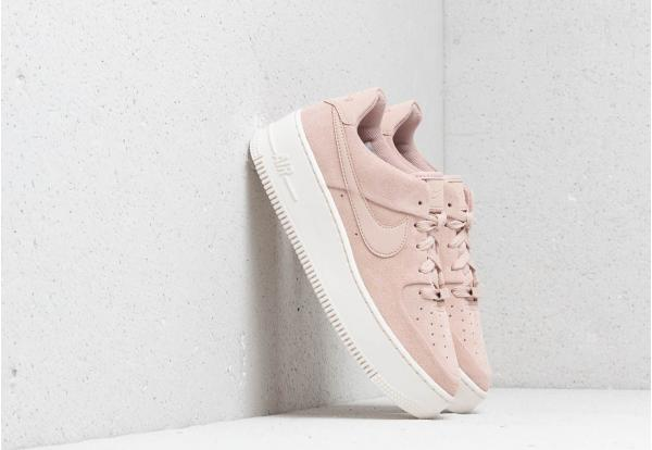 Nike W Air Force 1 Sage Low Particle Beige/ Particle Beige-Phantom