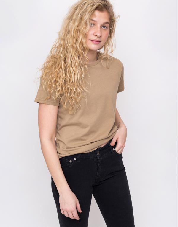 Colorful Standard Women Light Organic Tee Desert Khaki XS