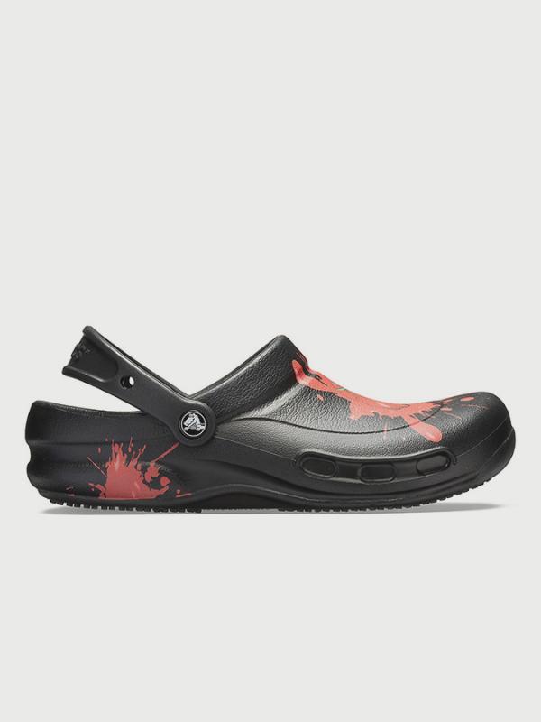 Sandály Crocs Bistro Graphic Clogs Černá