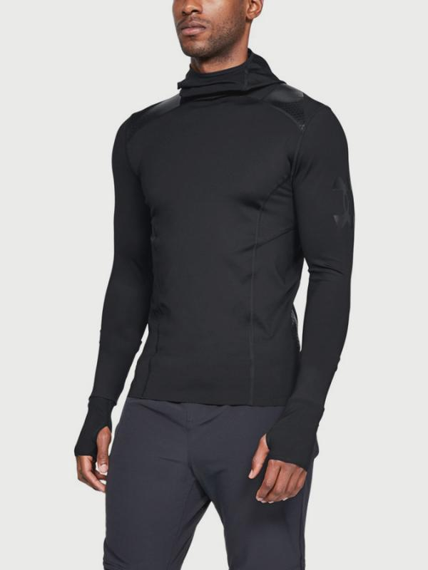 Kompresní tričko Under Armour Perpetl Superbase Ninja Černá