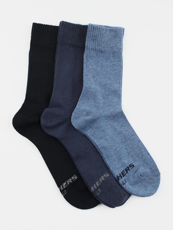 Ponožky Skechers SK41009-5500 - 3 pack Barevná