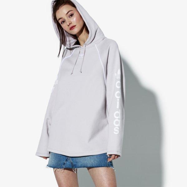 Adidas Hoodie Monthly Packs Fialová EUR L