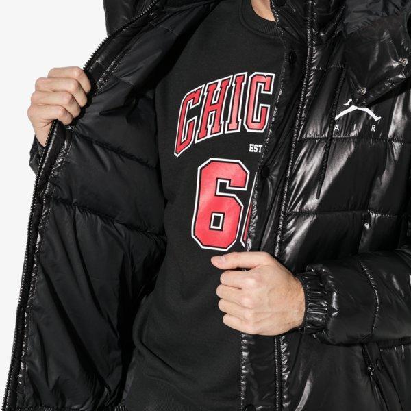 Nike Jordan Jumpman Puffer Jacket Černá EUR M