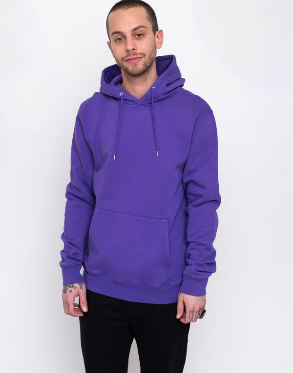 Colorful Standard Classic Organic Hood Ultra Violet L