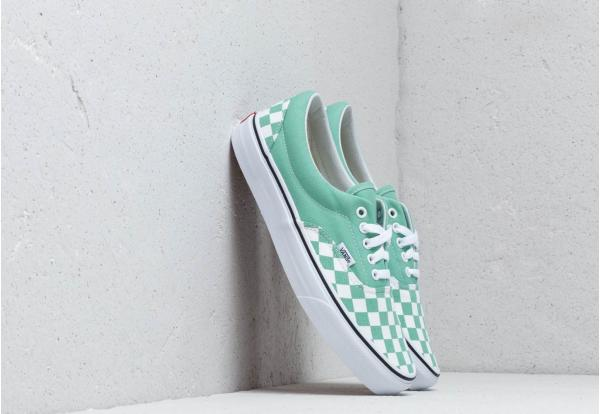 Vans Era (Checkerboard) Neptune Green