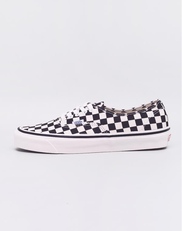 Vans Authentic 44 DX (Anaheim Factory) Black / Check 38