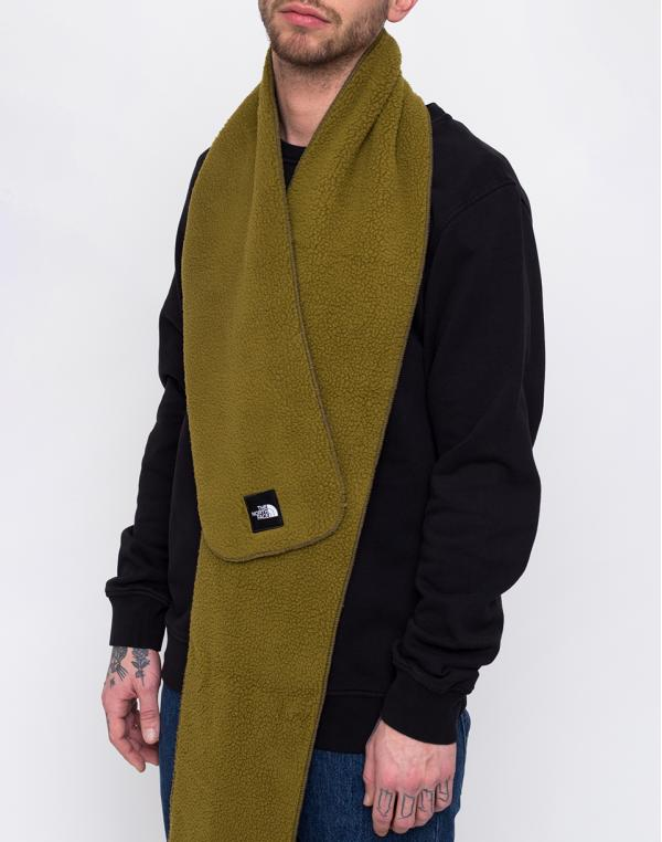 The North Face Denali Fleece Scarf Fir Green