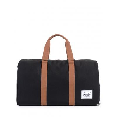 Herschel Supply Novel Black/Tan Synthetic Leather