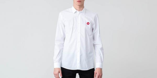 WOOD WOOD Kay Shirt Bright White