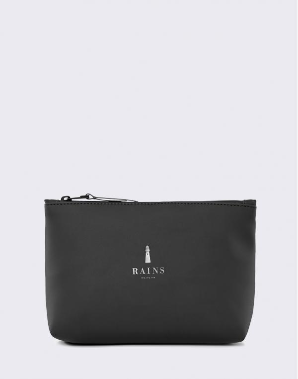 Rains Cosmetic Bag 01 Black